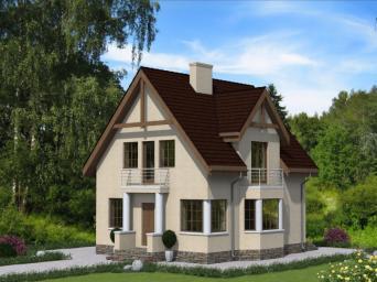 Проекты домов из пеноблоков 8 на 8 в Суровикине